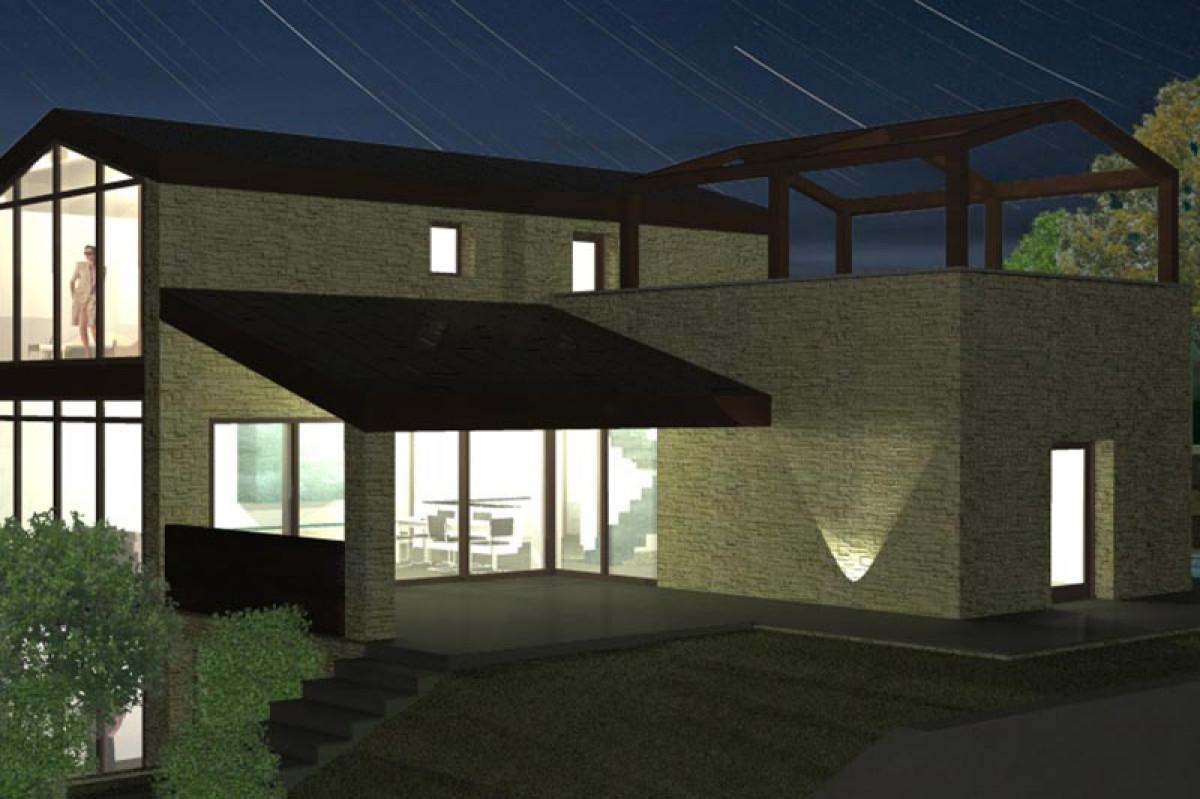Progettazione di una villa nel comune di Buggiano
