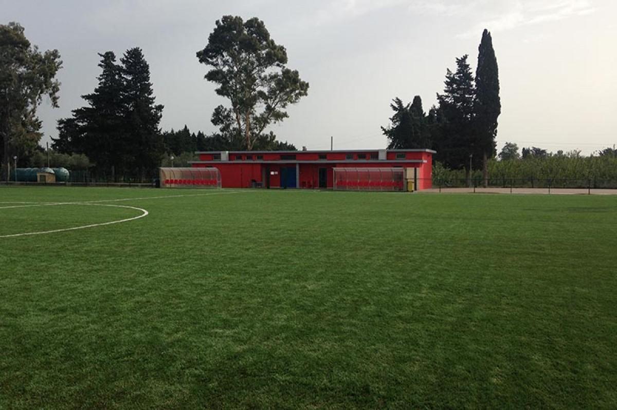 Realizzazione manto erba sintetica impianto sportivo Mazzola