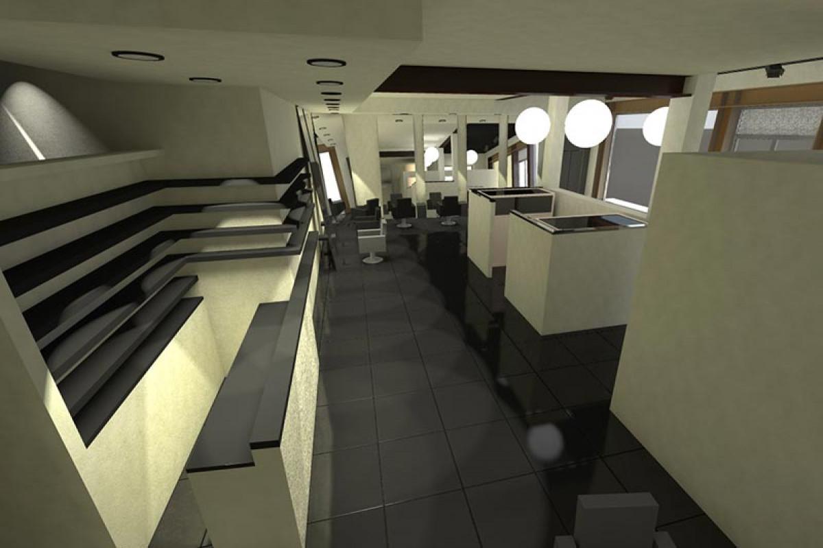 Progettazione direzione lavori e coordinamento della sicurezza negozio di parrucchieri Montecatini Terme