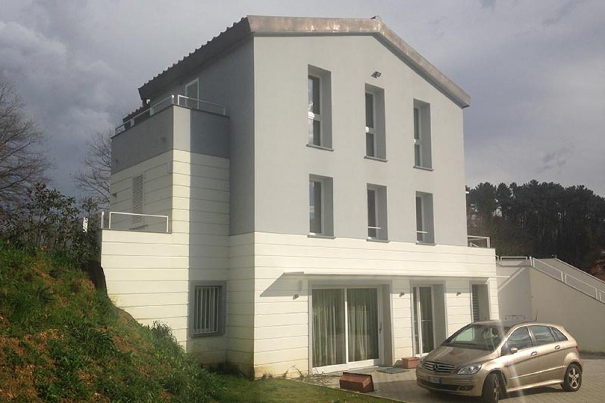 Responsabile lavori realizzazione villa nel comune di Buggiano